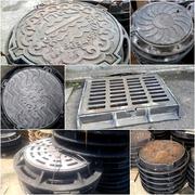 Люки чугунные канализационные Тип С вес 80 кг 12.5 тн нагрузка
