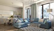 Дизайн интерьеров домов,  квартир и офисов в Алматы  за 30 дней