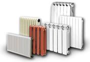Радиаторы чугунные биметоллические алюминиевые