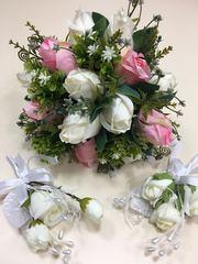 Свадебный букет (цветы искусственные)