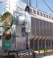 Зерносушилка TE2432E (с охлаждением) (возможность увеличения производительности,  надстройка 2-го и 3-го модуля)