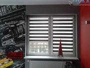 Рулонные шторы день-ночь,  жалюзи,  солнцезащитные системы