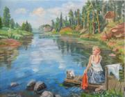 картины живопись,  заказ картин,  принимаю заказ на портреты