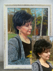 картины,  портреты на заказ