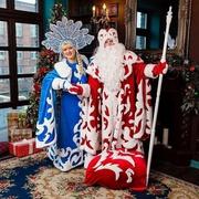 Настоящий Дед Мороз и Снегурочка в Алматы.