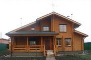Строим дома из оцилиндрованного бревна