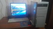 Компьютер 2х ядерный в комплекте.