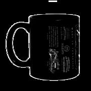 Кружки черные с печатью. Нанесение на кружки черные надписей,  рисунков