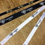Печать на лентах. Нанесение на ленту размеров,  логотипов или названия