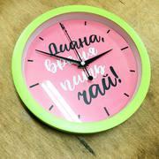 Часы с лого. Нанесение на часы логотипов или рисунков.