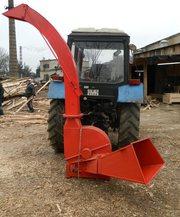 Машина древесно-рубильная МДР-0, 8 на трактор МТЗ