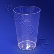 Одноразовые стаканы пластиковые 100, 200, 300, 400, 500 мл/ОПТ цена за 1 к