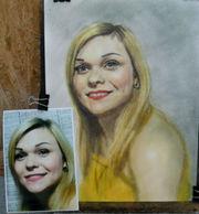 Портреты ручная работа живопись недорого и профессионально