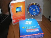 Microsoft Windows 7 Professional BOX 32 64 Bit Russian СНГ (Коробка)