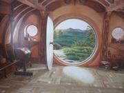 Художественная роспись стен,  потолков