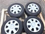 шины MICHELIN с дисками R15 оригинал Toyota