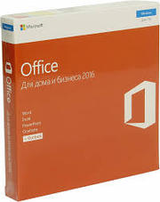 Microsoft Office 2016 Для дома и бизнеса, Russian, Box, Ck (Only Kazakhstan)