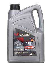 RAIDO Prima RL 10W-40- полусинтетическое моторное масло
