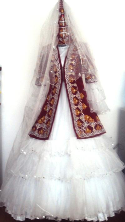 Казахские свадебные платья фото 2